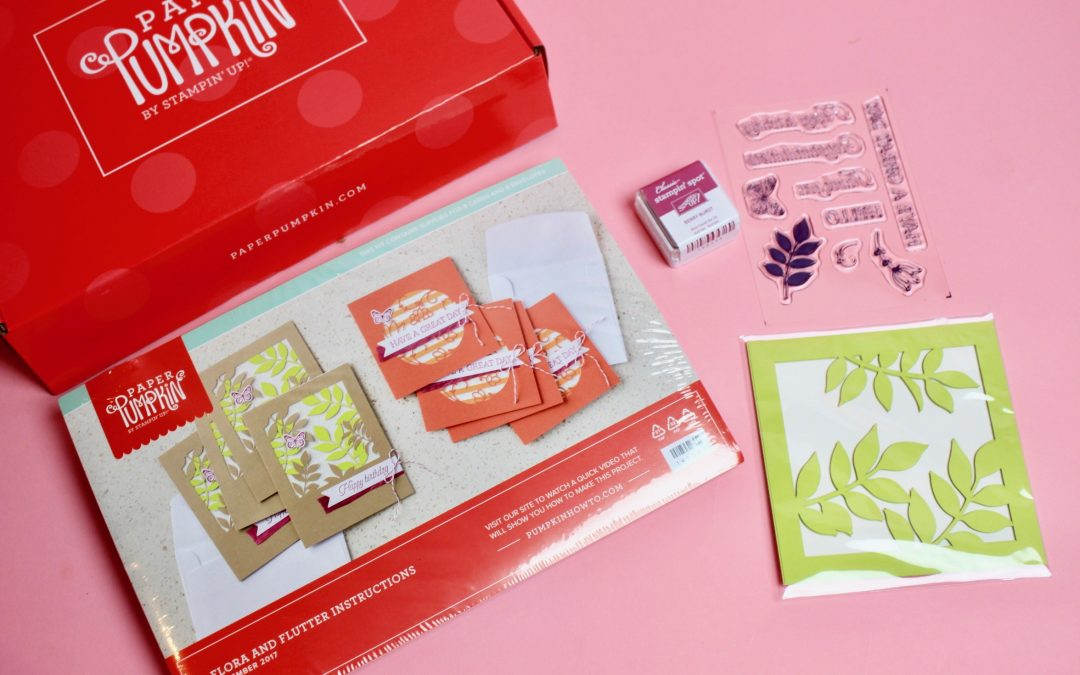 Paper Pumpkin by Stampin' Up Subscription Box Review – December 2017