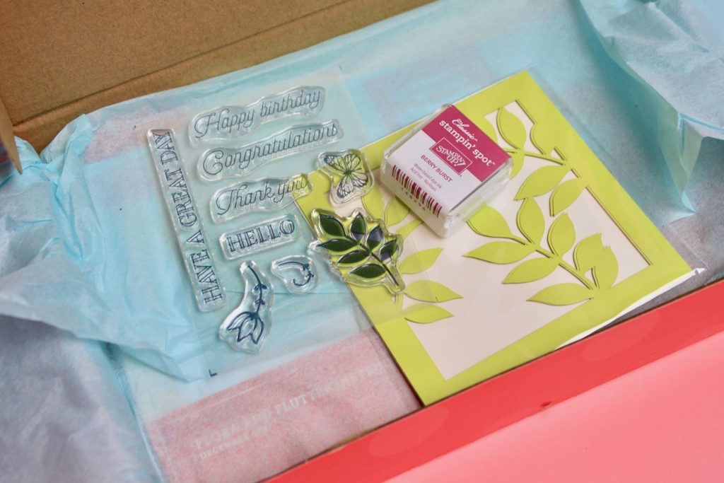 Paper Pumpkin Subscription Box Review December 2017