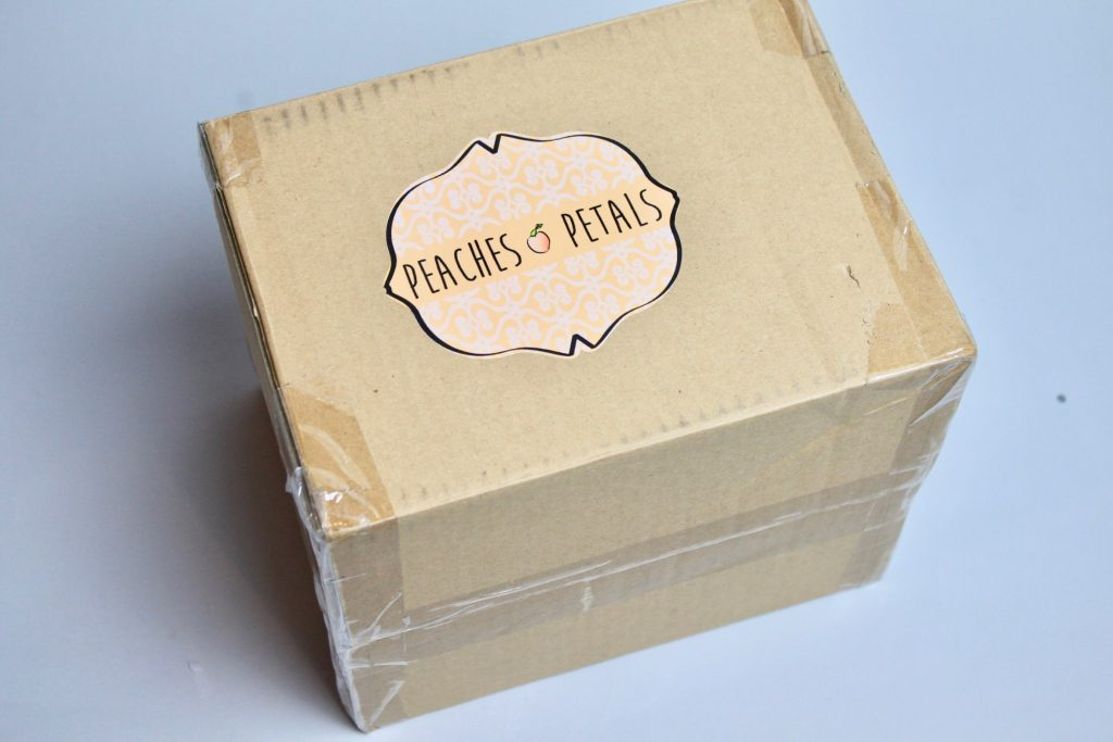 Peaches & Petals Subscription Box Review December 2017