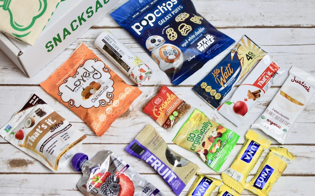 SnackSack Gluten-Free Subscription Box Review + Coupon – December 2017