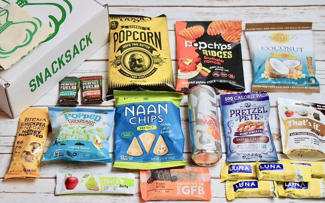 SnackSack Classic Subscription Box Review + Exclusive Coupon – January 2018