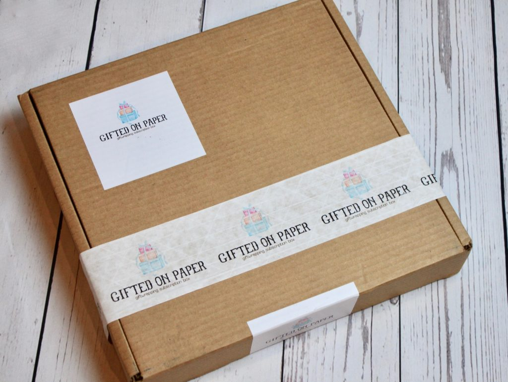 Gifted On Paper Subscription Box Review February 2018