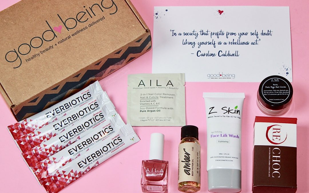 Goodbeing February 2018 Subscription Box Review + Coupon