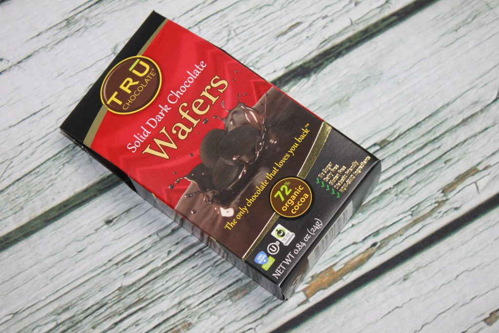 TRU Solid Dark Chocolate Wafers Sleek Treat February 2018 Review