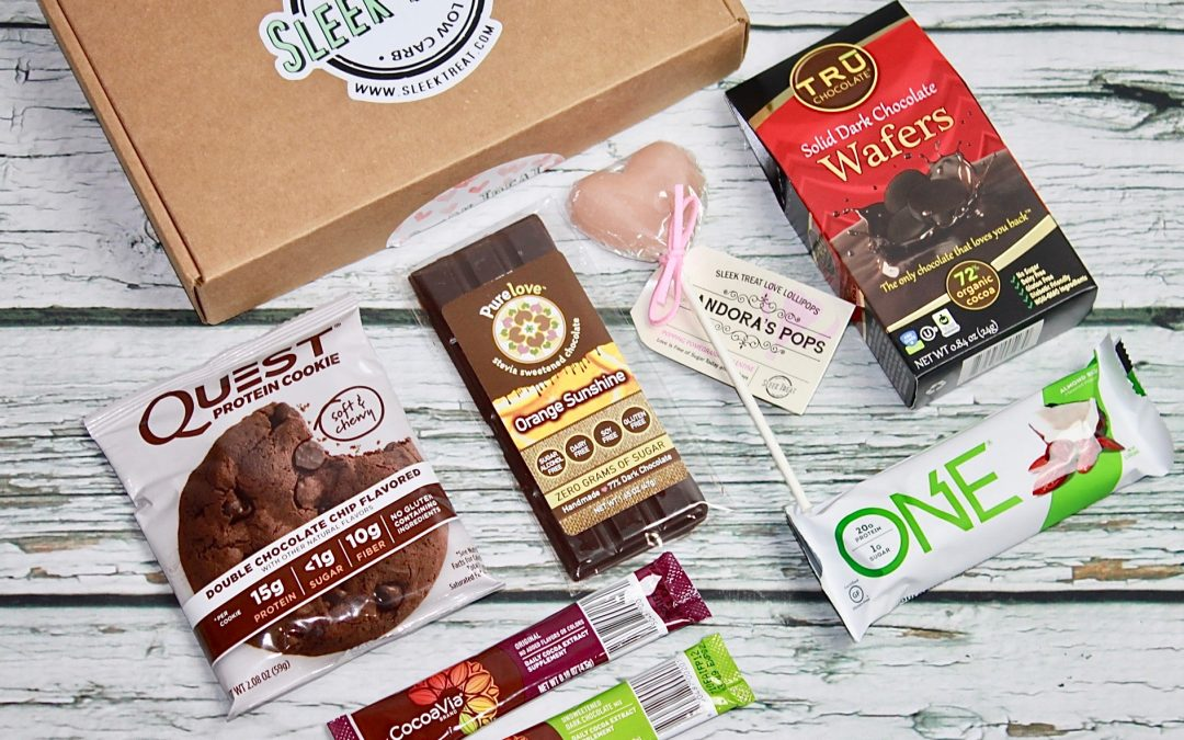 Sleek Treat February 2018 Subscription Box Review