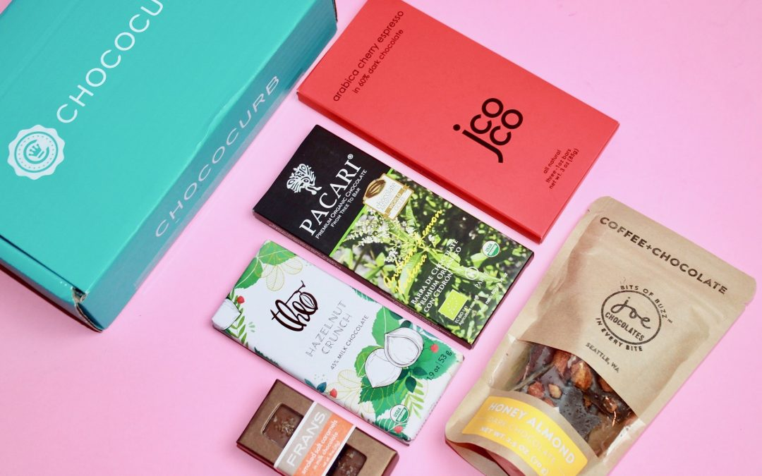 Chococurb Subscription Box Review + Coupon – January 2018