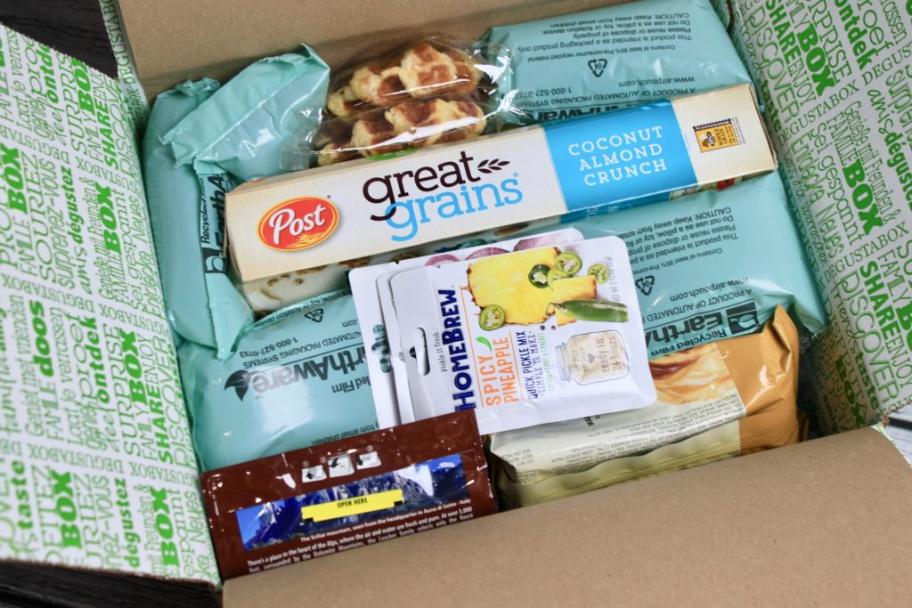 Degustabox March 2018 Subscription Box Review + 50% off Coupon Code