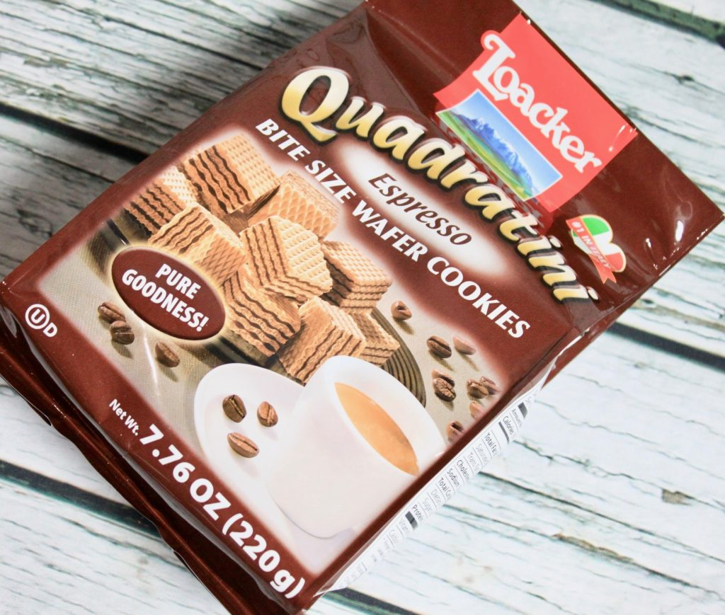 Loacker Espresso Bite-Sized Wafer Cookies Review