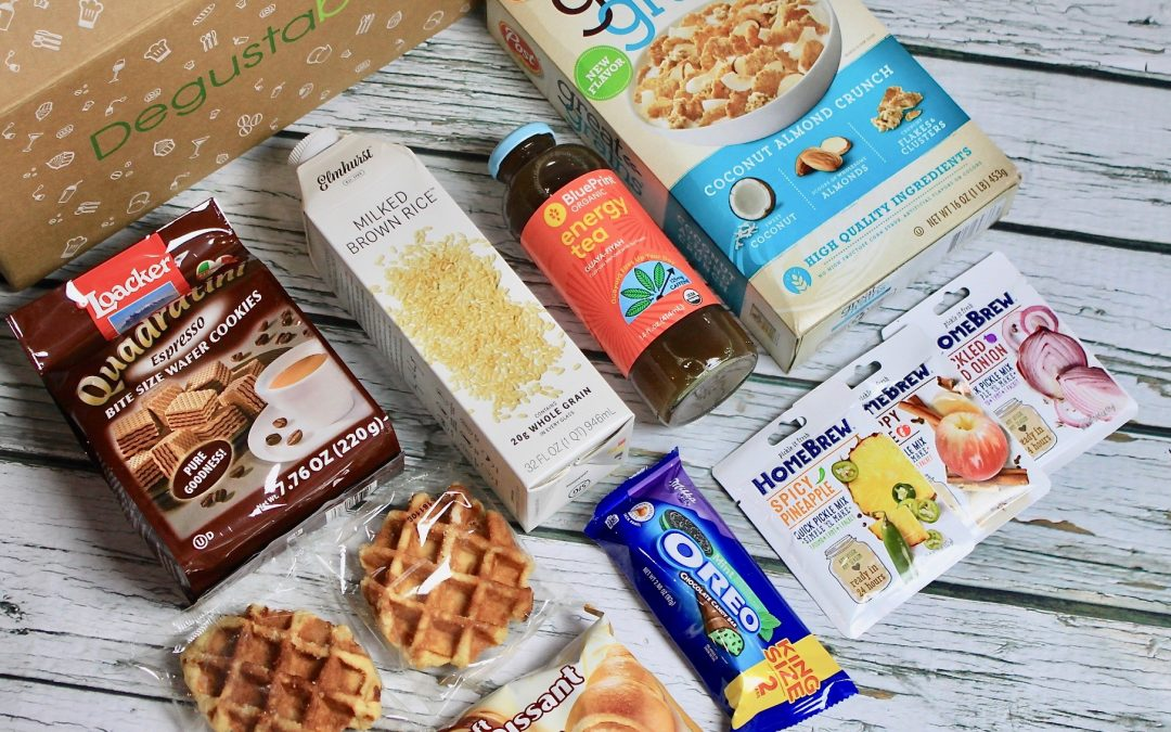 Degustabox March 2018 Subscription Box Review + 50% off Coupon