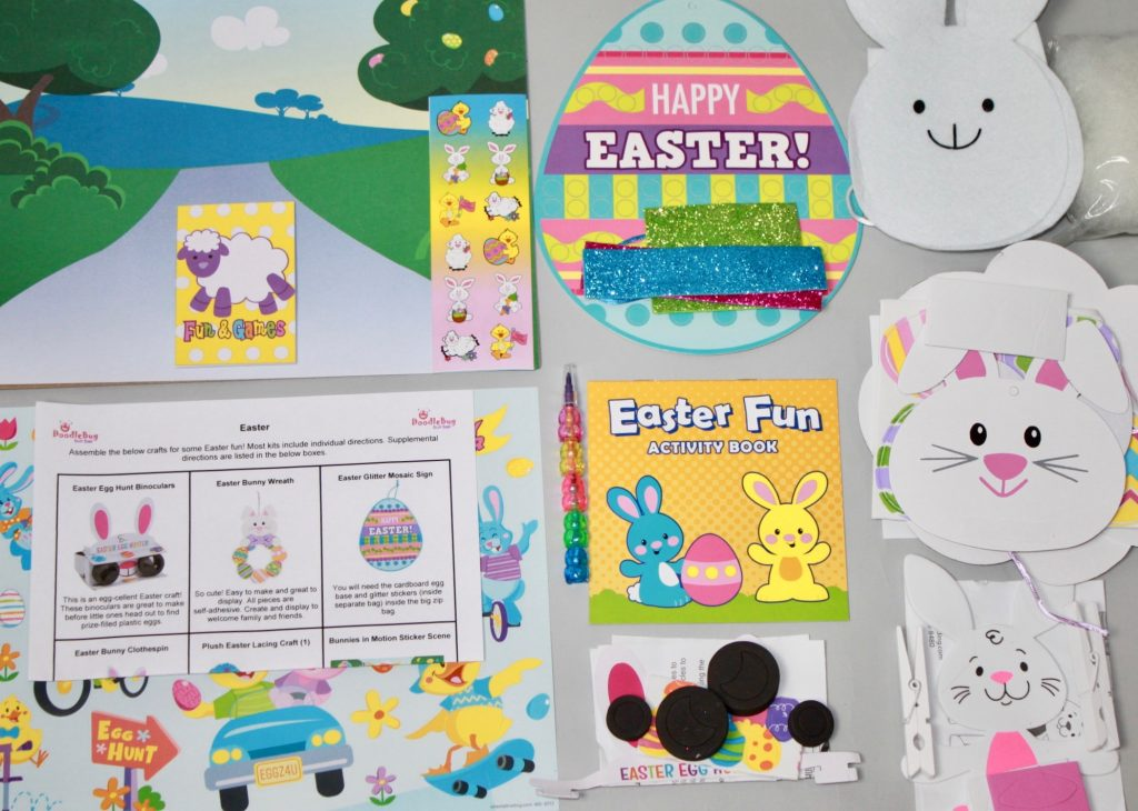 DoodleBug Busy Bags Kids Subscription Box Review- March 2018