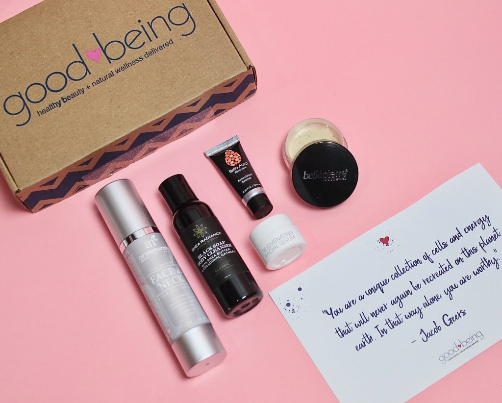 Goodbeing March 2018 Subscription Box Review + Coupon