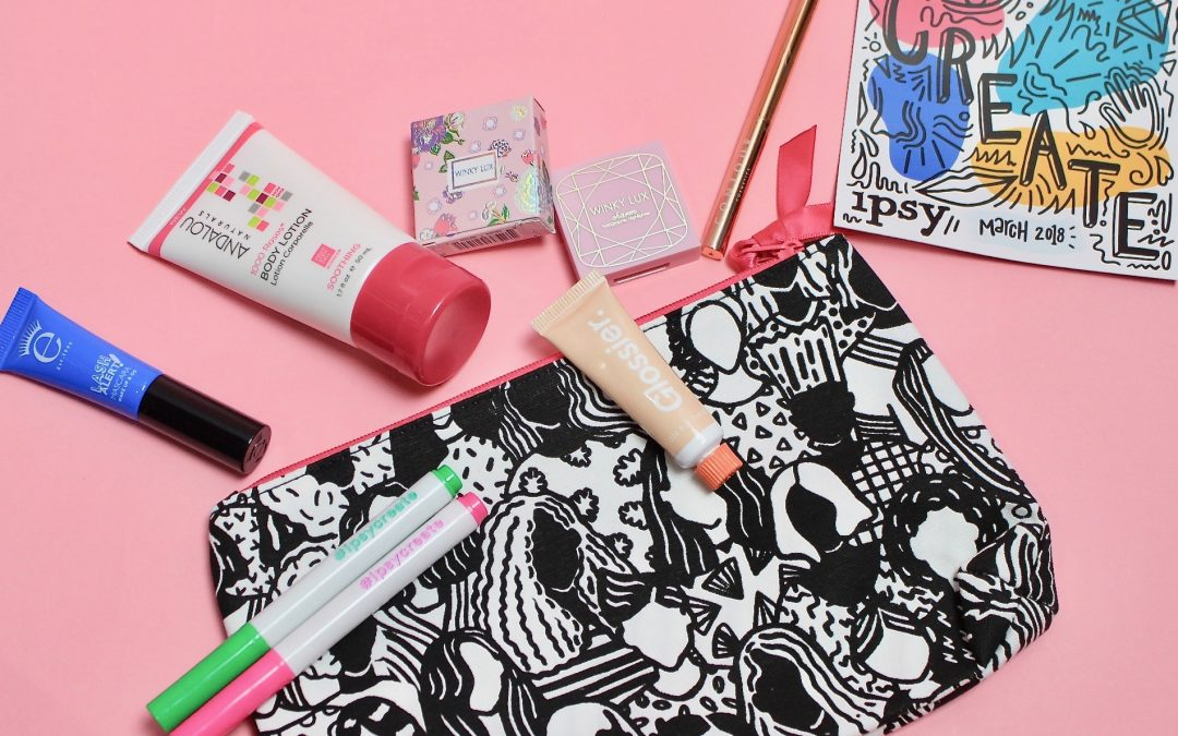 Ipsy Glam Bag Subscription Box Review – March 2018