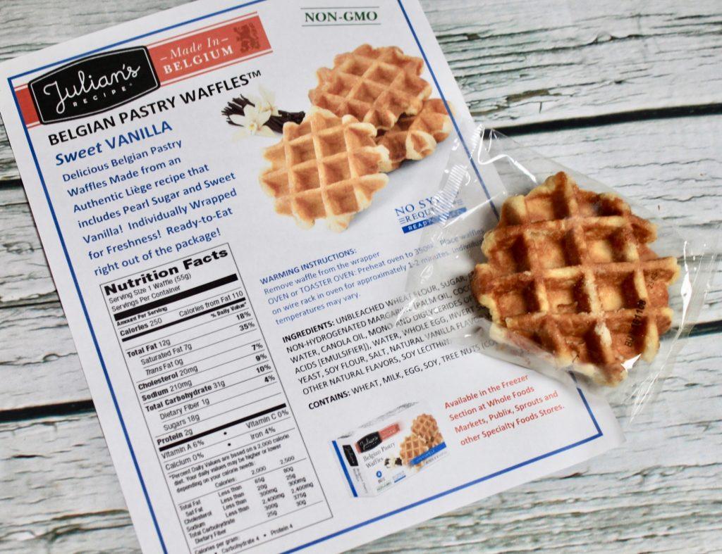 Julian's Recipe Belgian Pastry Waffles Review