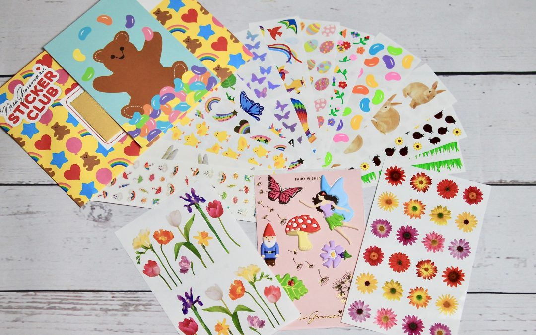 Mrs. Grossman's Sticker Club March 2018 Subscription Review + Coupon