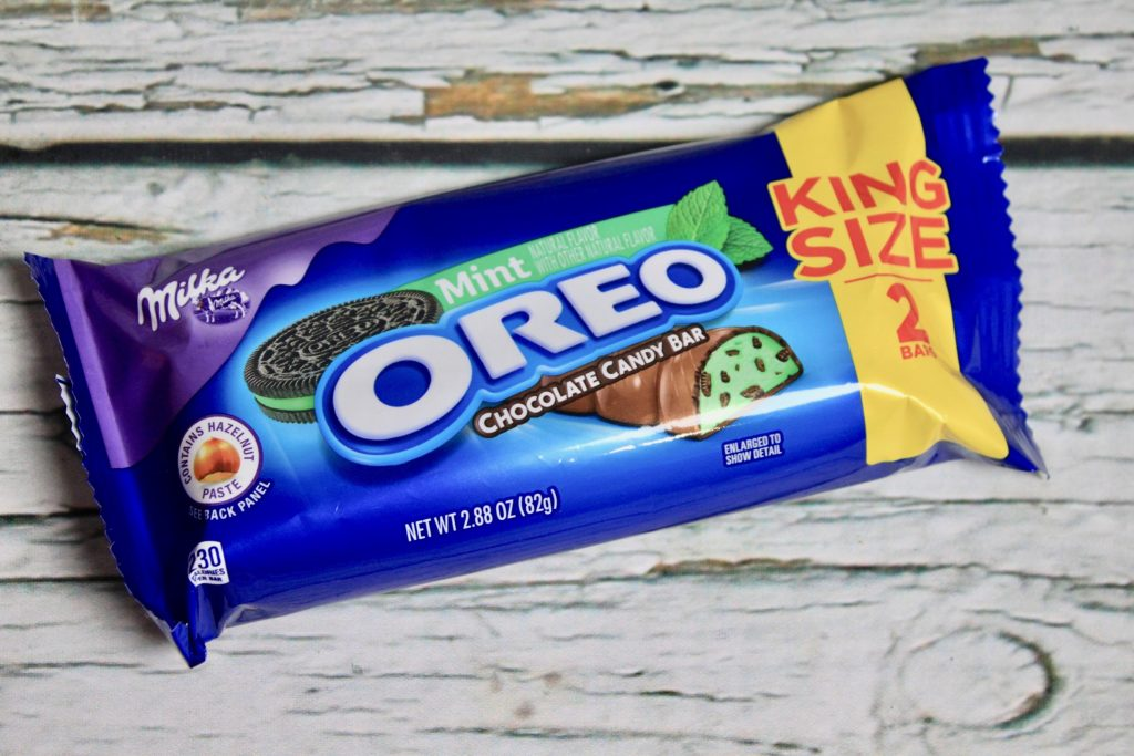 Oreo Mint Chocolate Candy Bar Review
