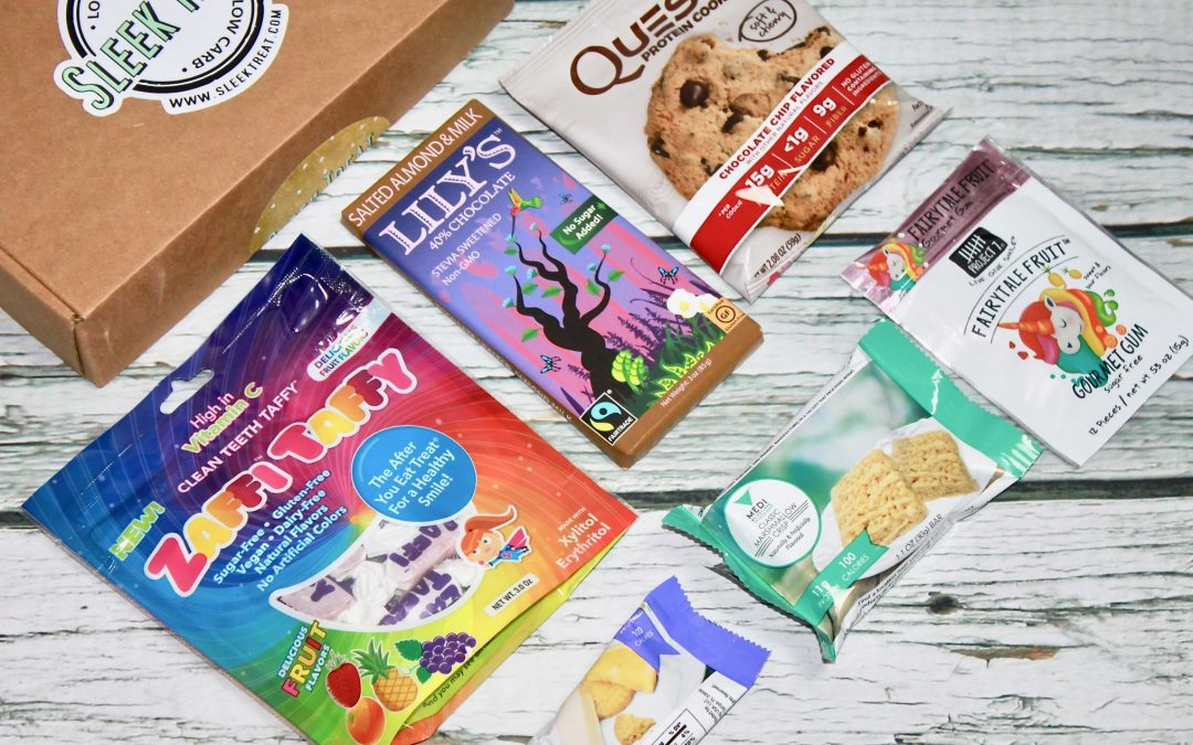 Sleek Treat March 2018 Subscription Box Review