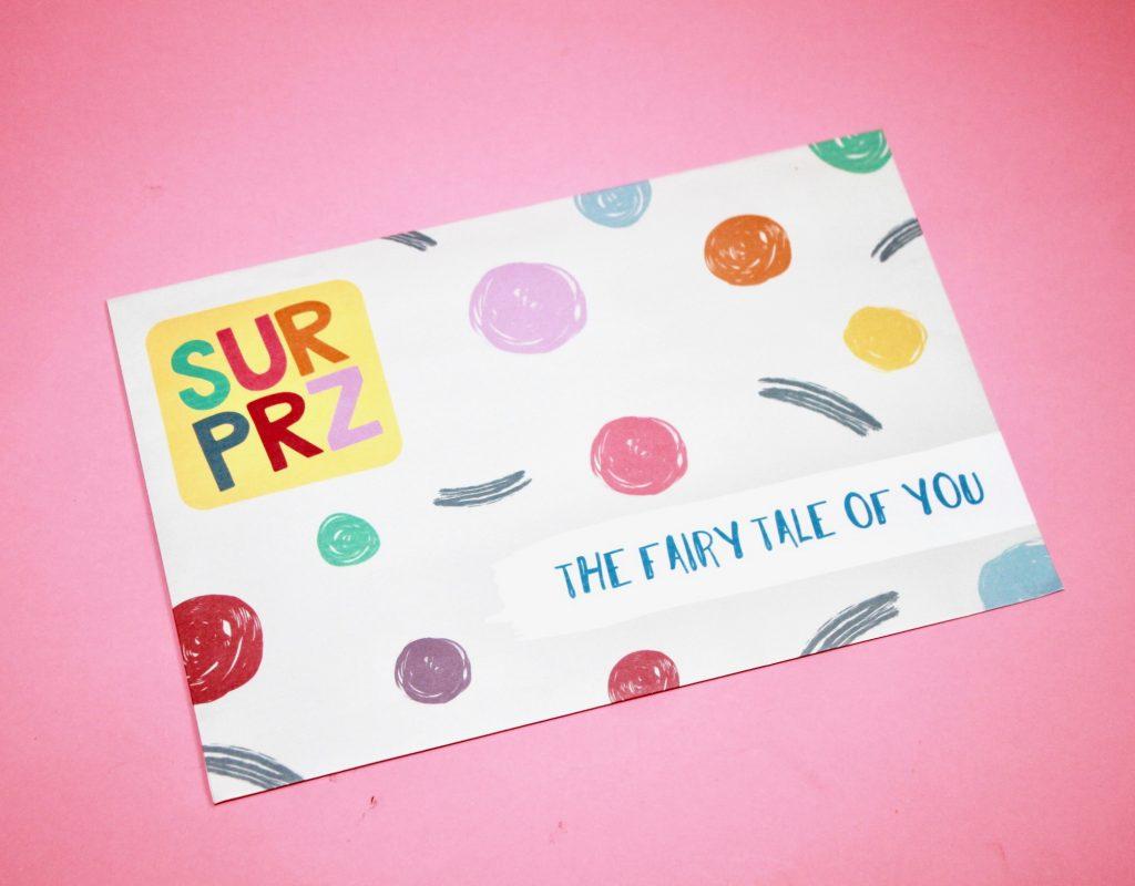 Surprz Personalized Sticker Subscription Review - March 2018