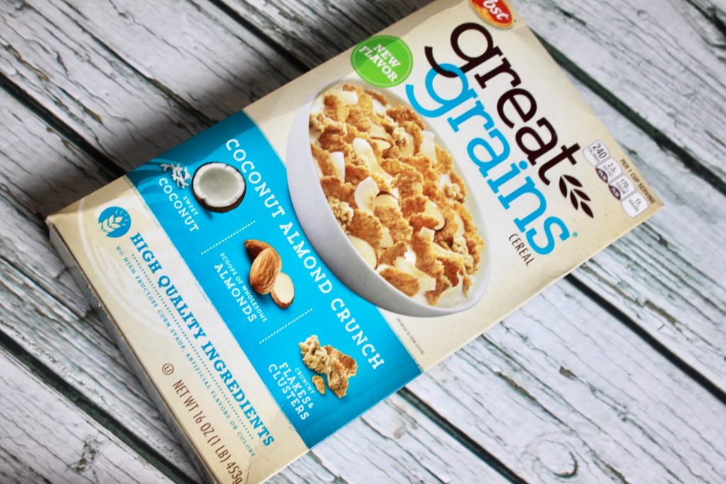 Post Great Grains Coconut Almond Crunch Cereal Review
