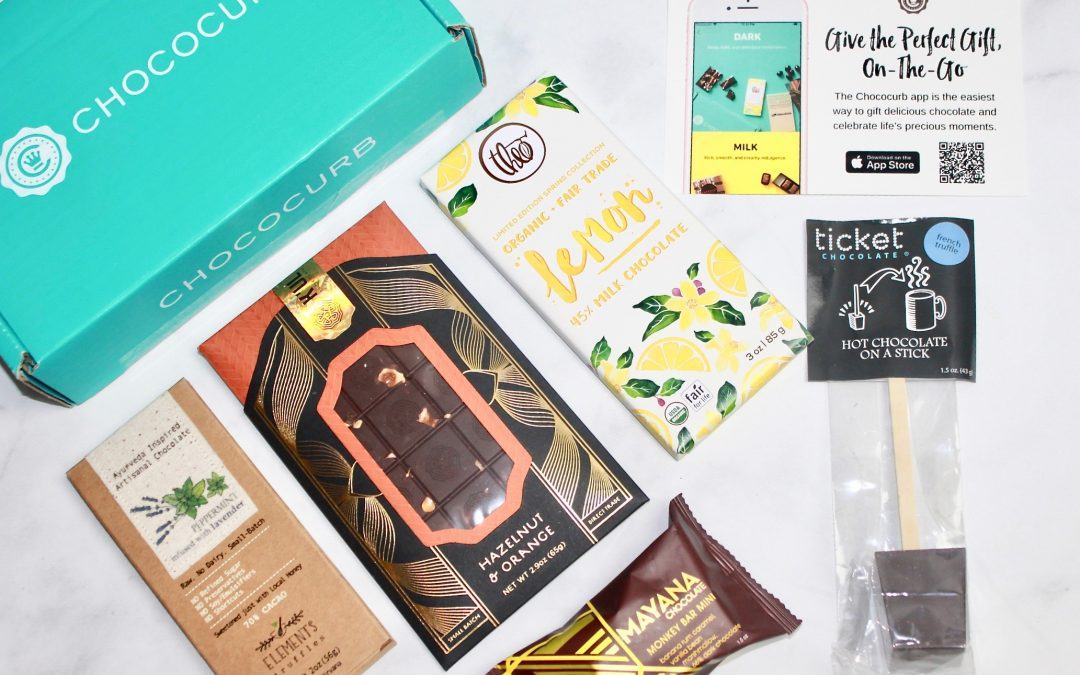Chococurb April 2018 Subscription Box Review