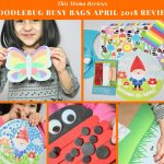 DoodleBug Busy Bags April 2018 Subscription Review