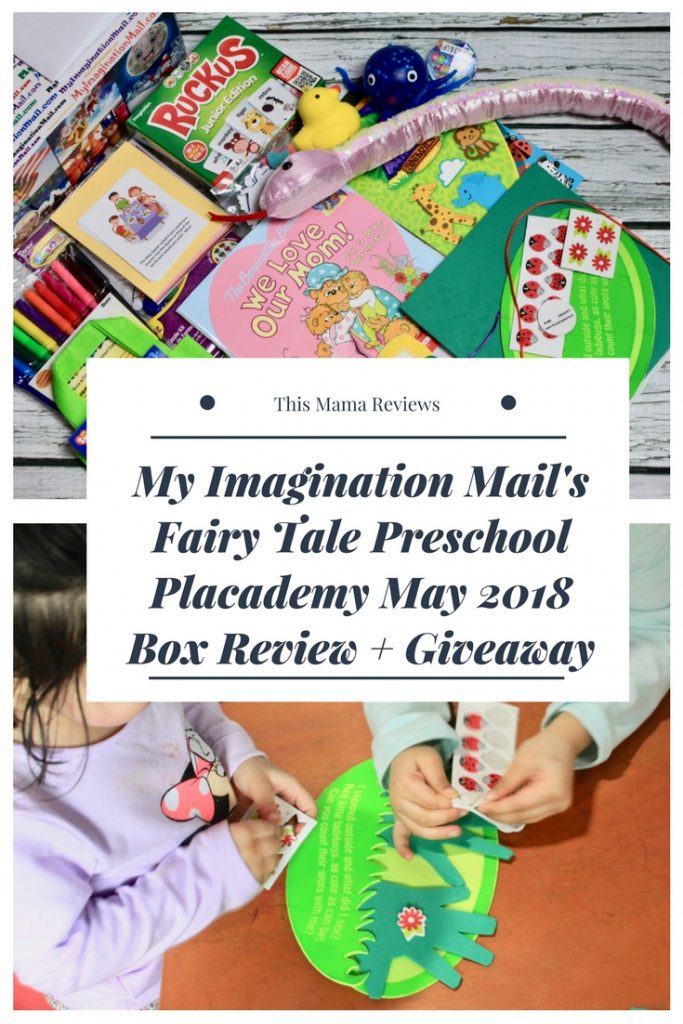 Fairy Tale Preschool Placademy Subscription Box By Imagination Mail May 2018 Review + Giveaway