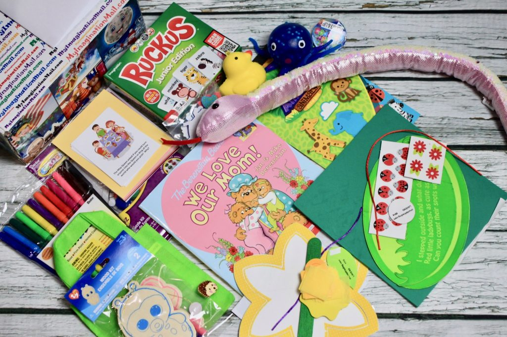 Fairy Tale Preschool Placademy Box by My Imagination Mail May 2018 Review + Coupon + Giveaway