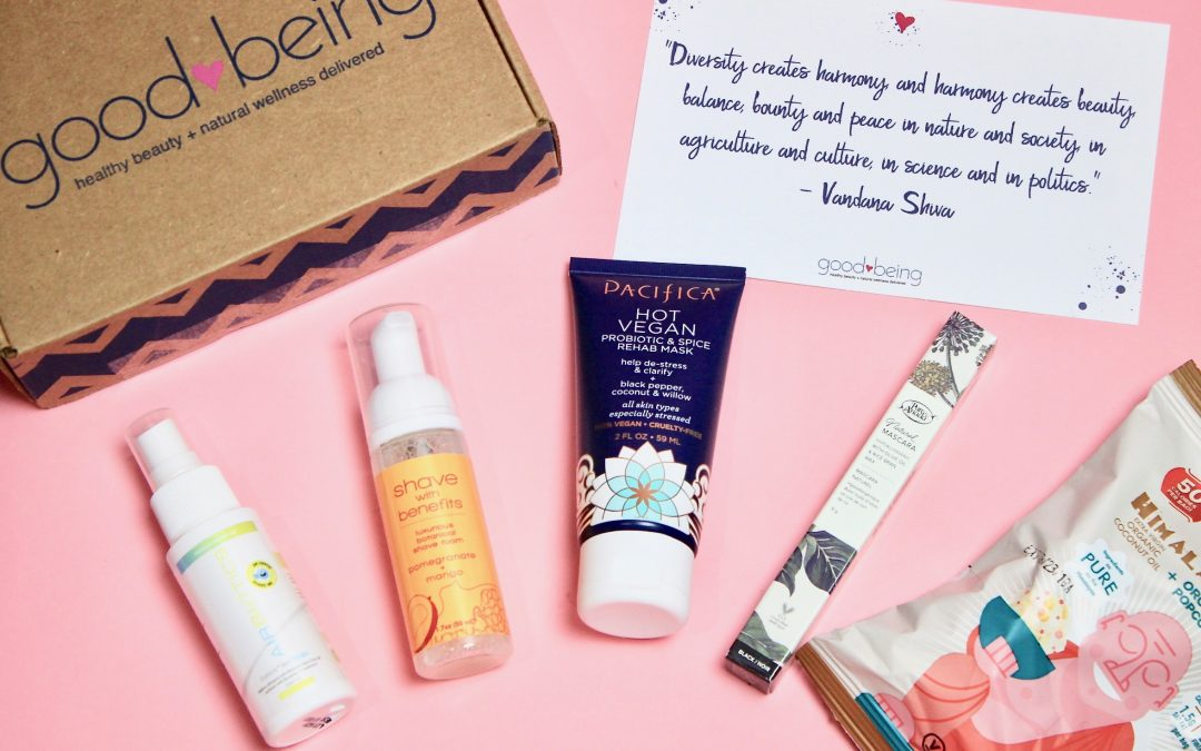 Goodbeing April 2018 Subscription Box Review + Coupon