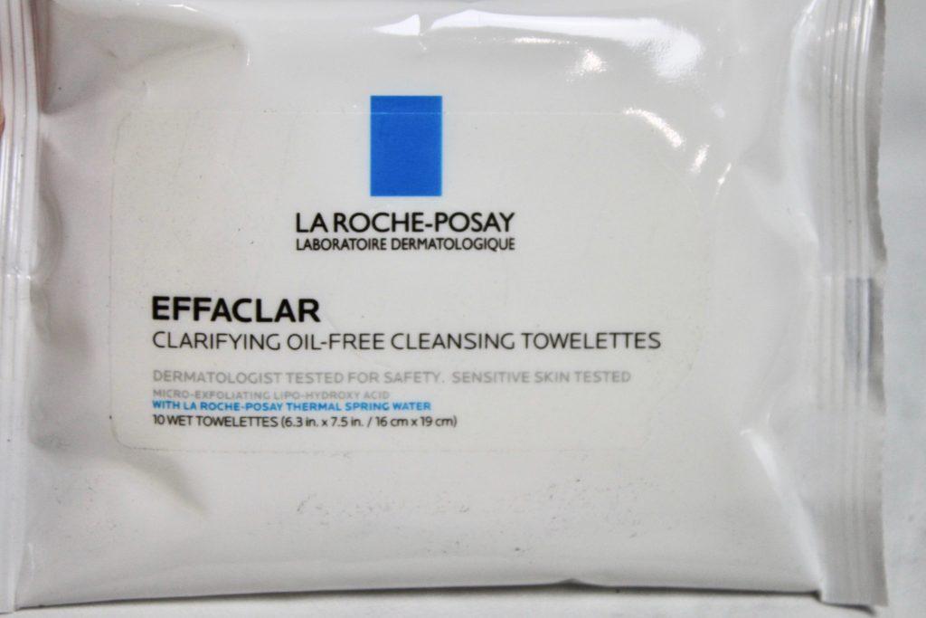 La Roch Posay towelettes