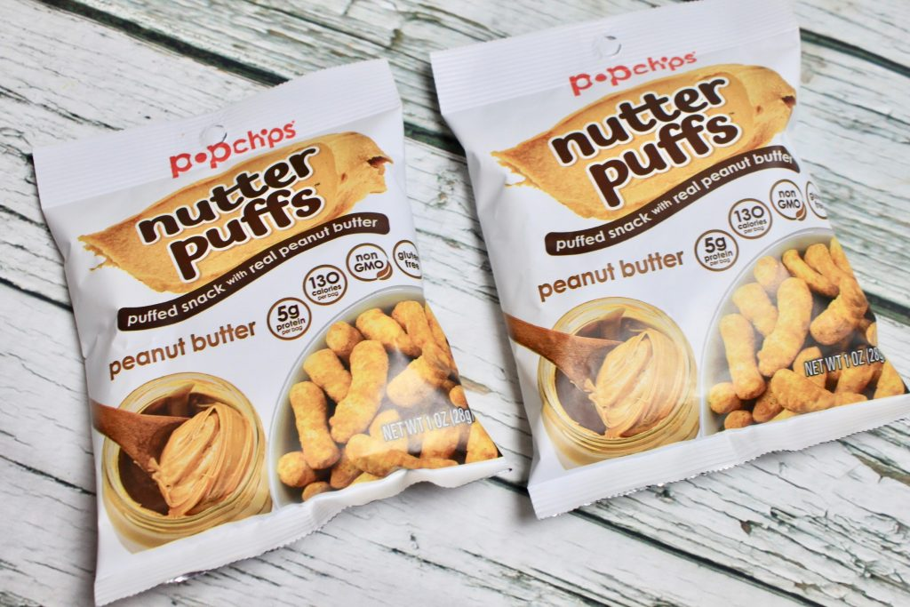 Popchips Nutter Puffs Peanut Butter Review
