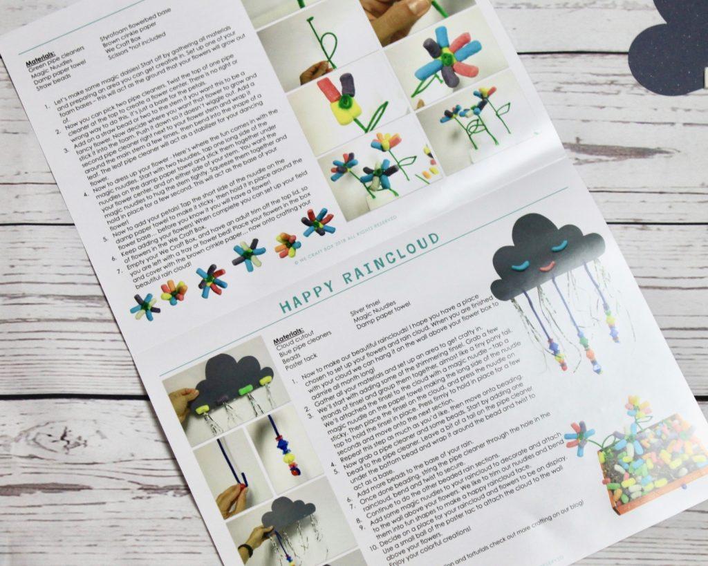 We Craft Box Kids Subscription April 2018 Review + Coupon Code
