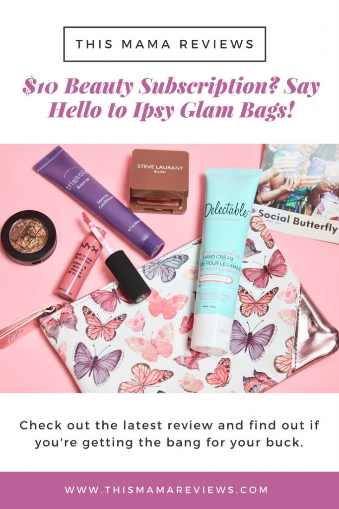 Ipsy Glam Bag - worth $10? Yes or No?
