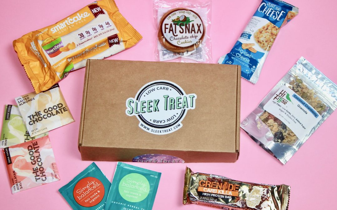 Sleek Treat April 2018 Subscription Box Review