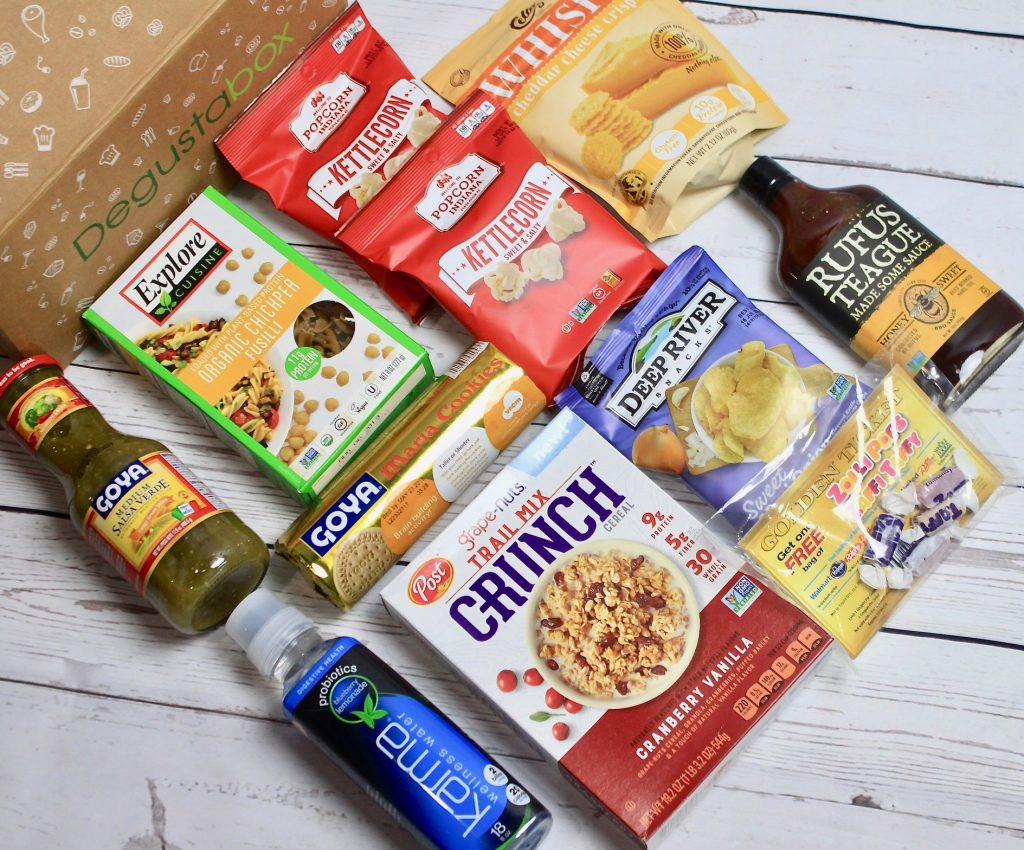 Degustabox May 2018 Subscription Review + 50% off Coupon Code