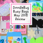 DoodleBug Busy Bags May 2018 Subscription Box Review