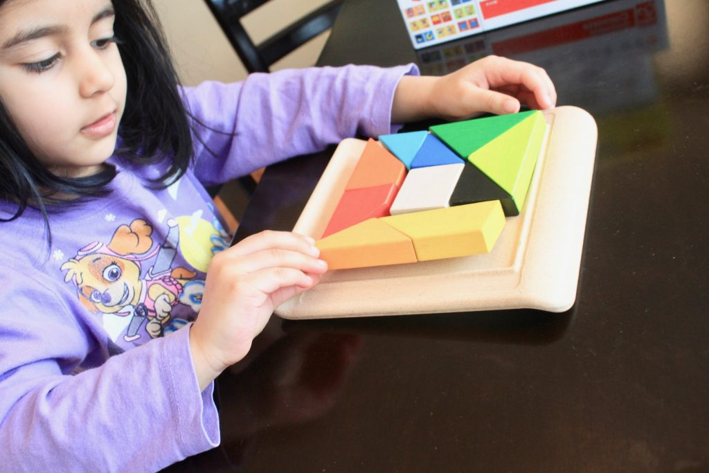 Puzzles for 4+ ages kids