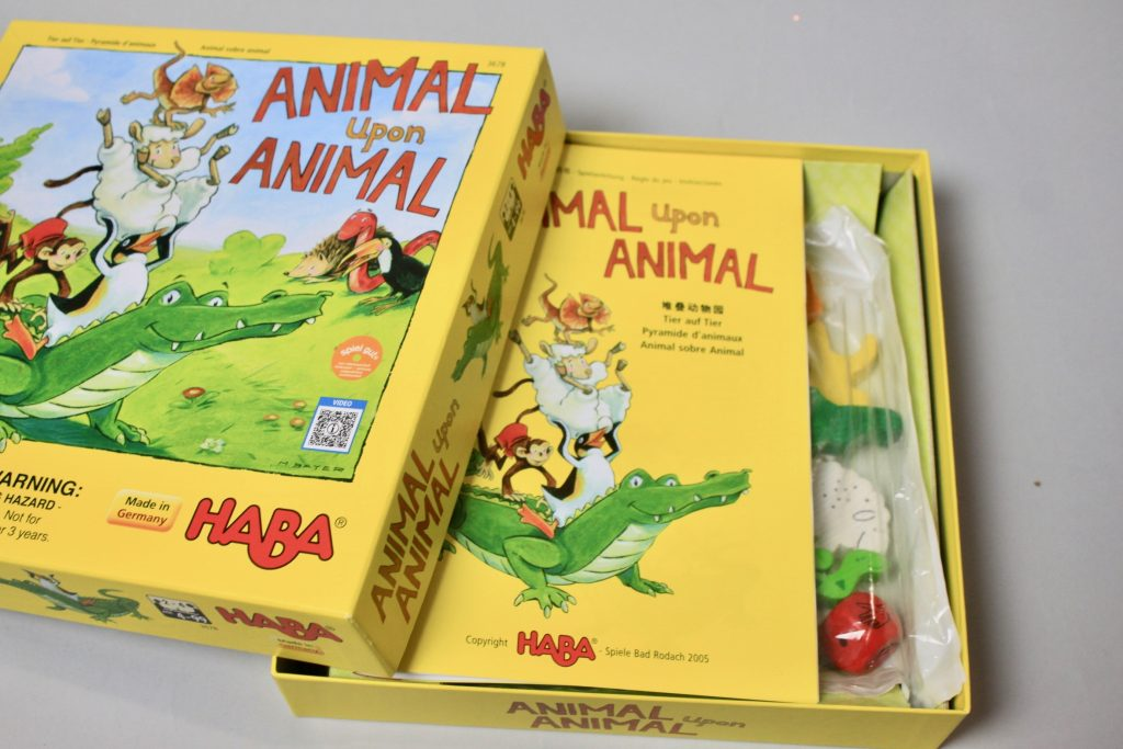 HABA Animal Over Animal Toy Review - Green Piñata Toys Subscription Box Review - May 2018