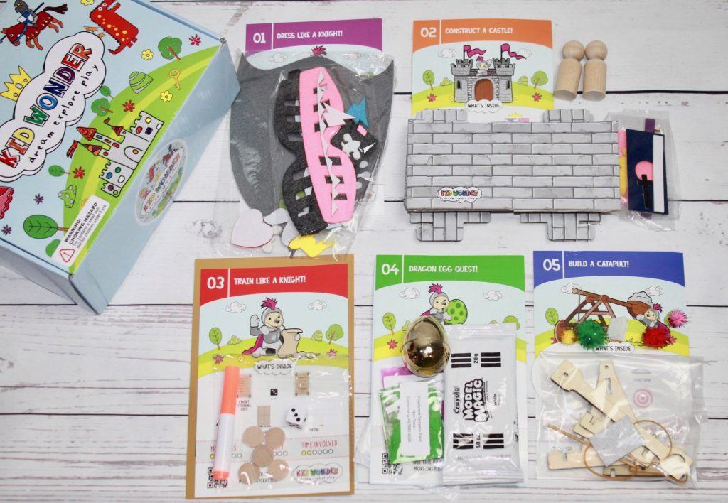 Kid Wonder Box May 2018 Subscription Review