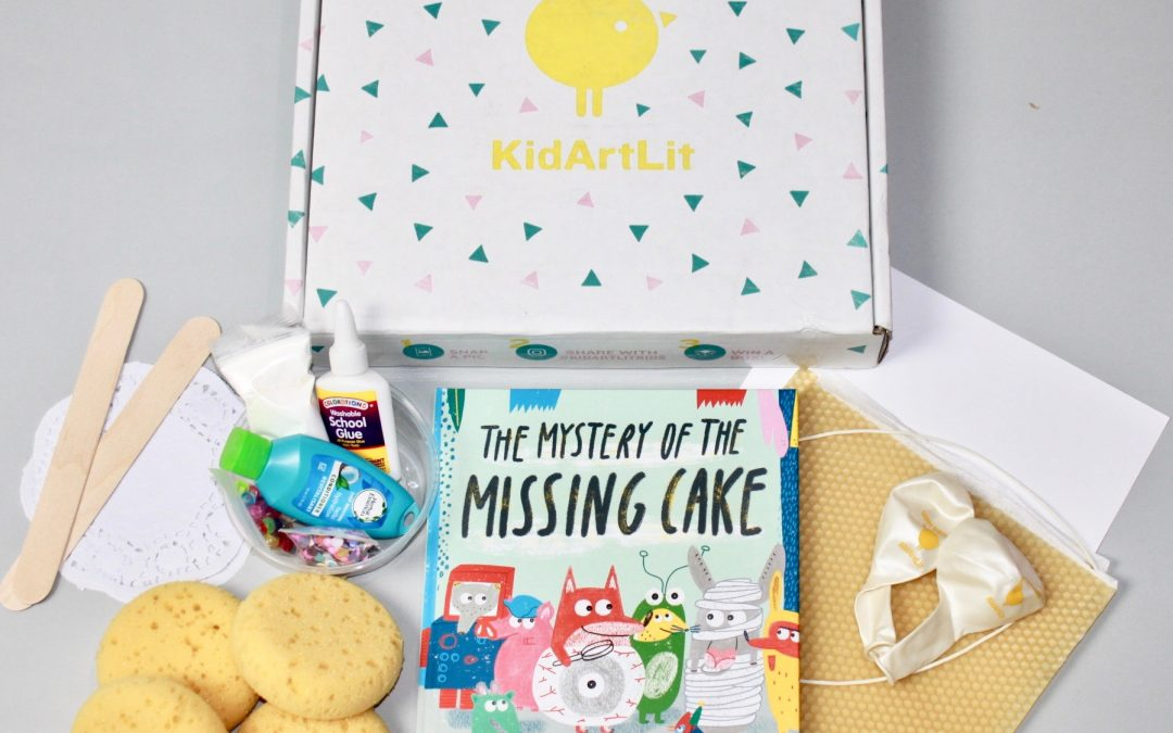 KidArtLit May 2018 Subscription Box Review