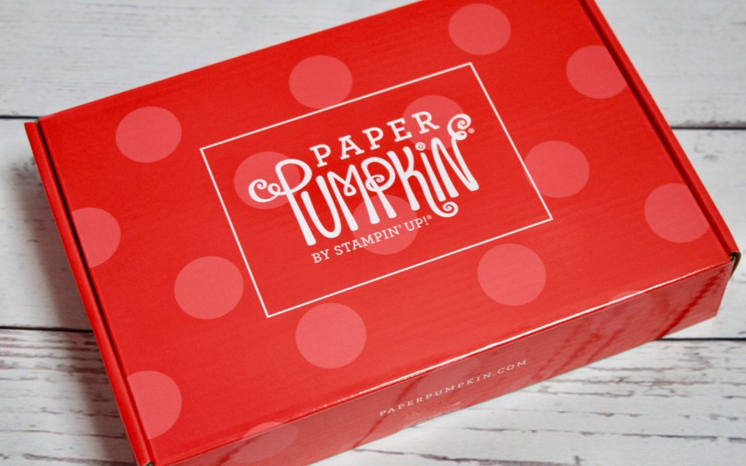 Paper Pumpkin May 2018 Subscription Box Review