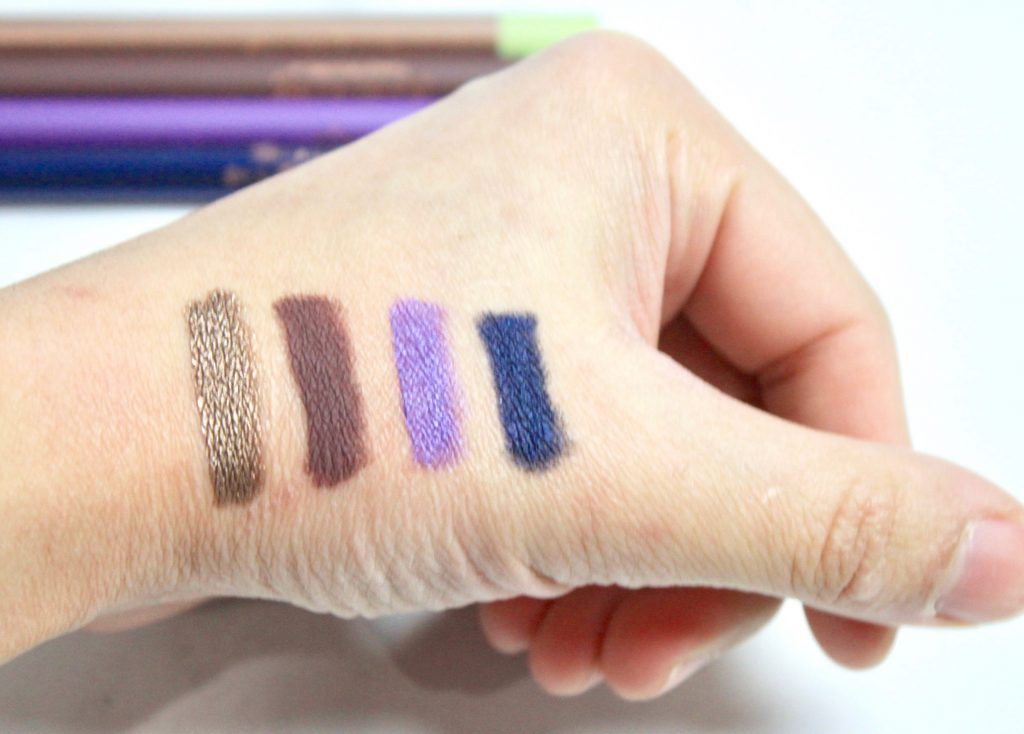 Endless Silky Eye Pens - swatches