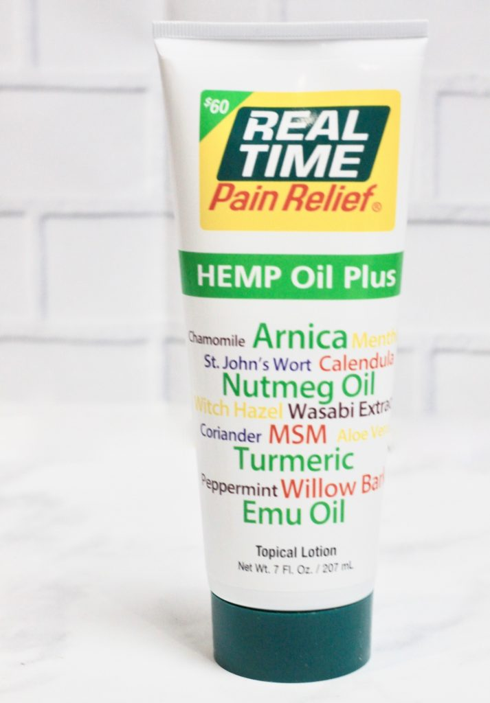 Real Time Pain Relief Hemp Oil Plus Review + Giveaway