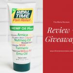 #RealTimePainRelief Hemp Oil Plus Review + Giveaway