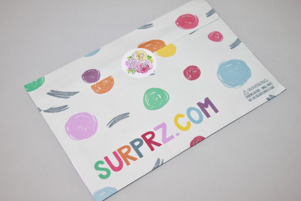 Surprz Sticker Subscription Box Review April 2018 + Coupon