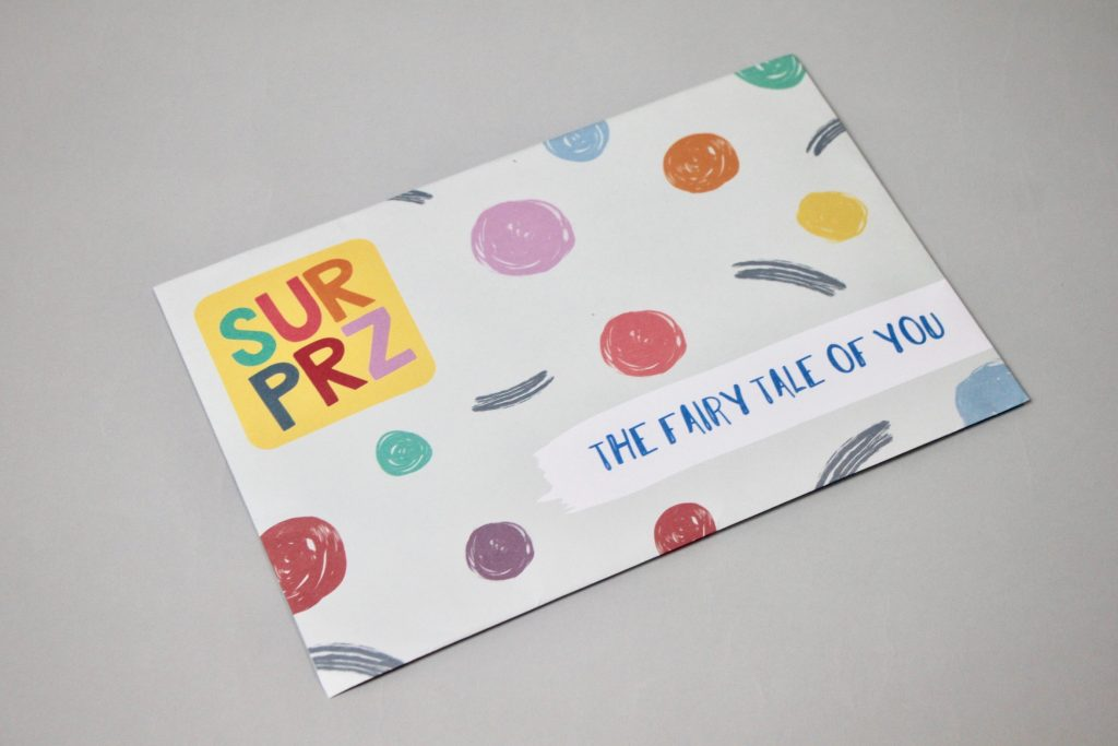 Surprz Monthly Sticker Subscription Box Review April 2018