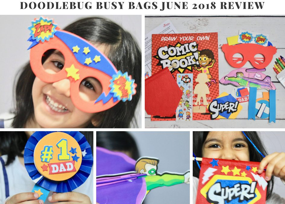 DoodleBug Busy Bags June 2018 Subscription Box Review