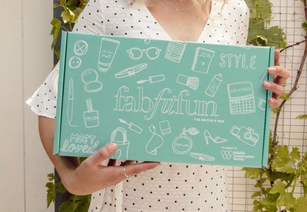 FabFitFun Summer 2018 Editor's Box FULL Spoilers + $10 off Coupon Code