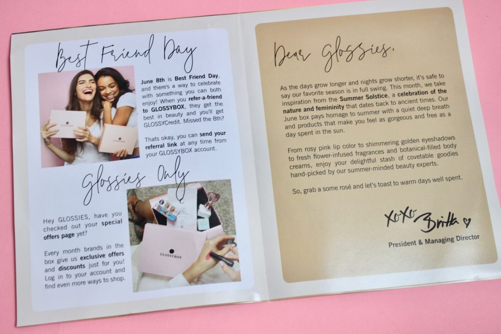 Glossybox June 2018 Subscription Box Review + Coupon