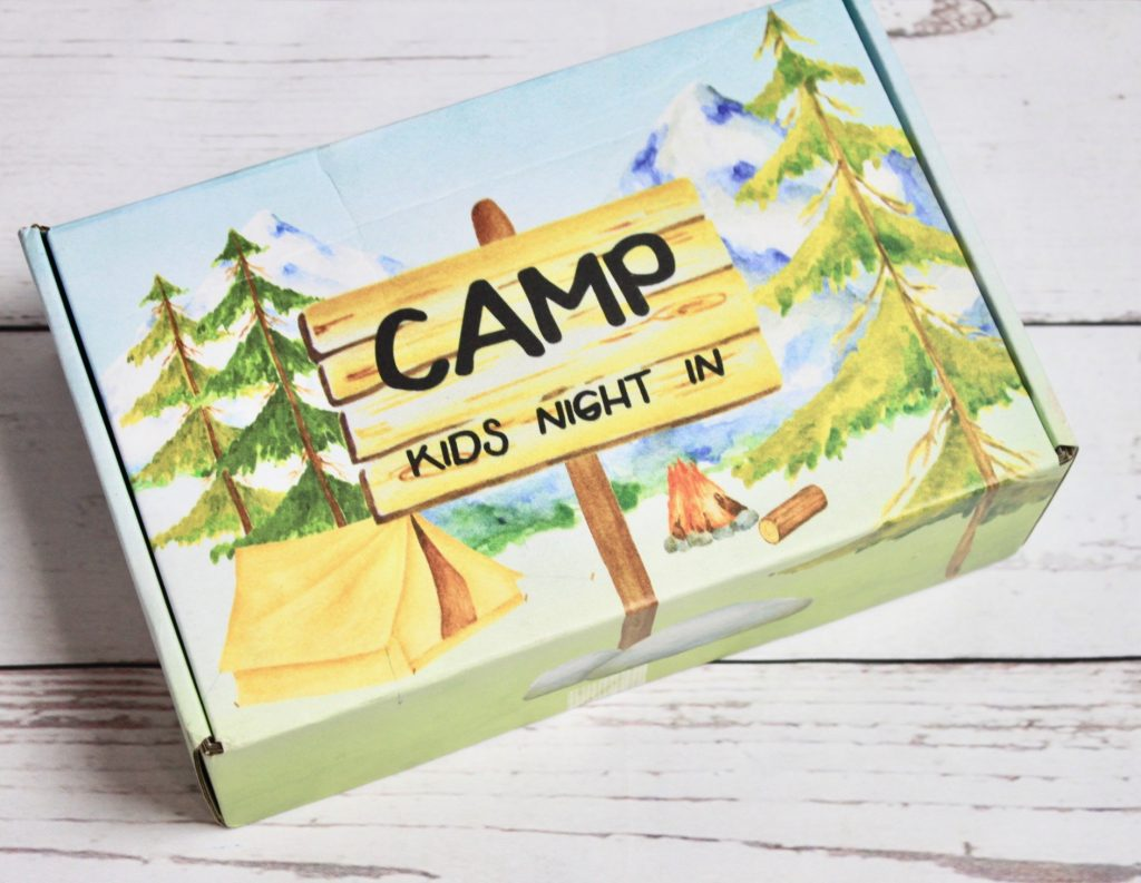 Kids Night In Box June 2018 Camping Subscription Review + Giveaway