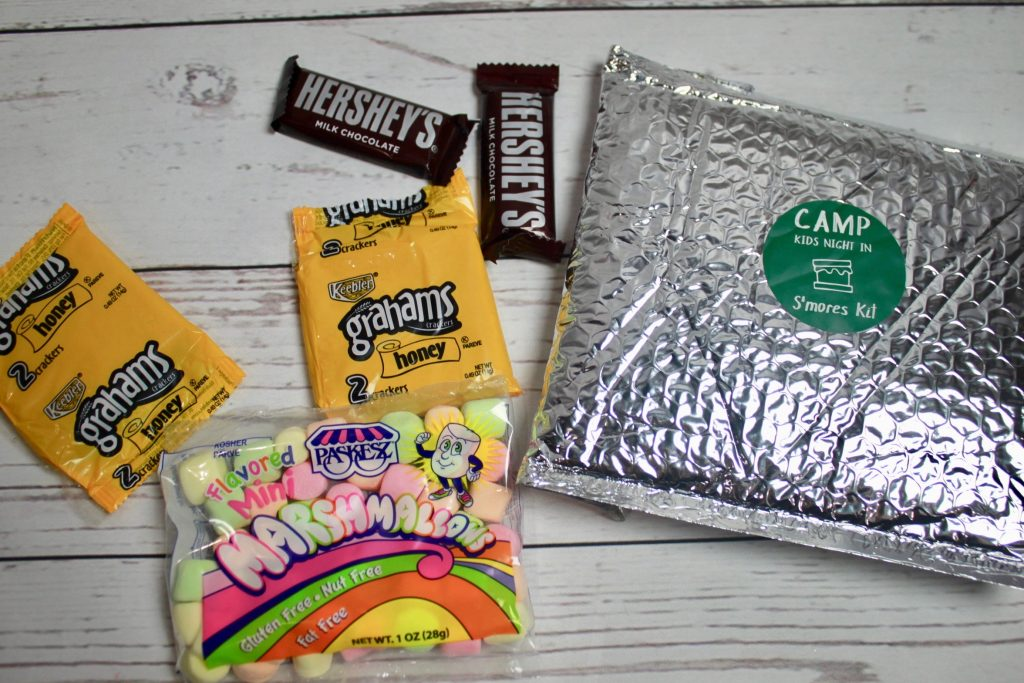 Kids Night In Box June 2018 Camping Subscription Review