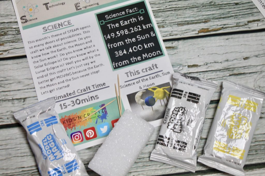Kids'n'Craftz June 2018 Subscription Box Review